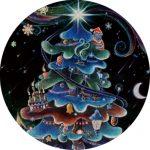 スギの木のクリスマスツリー