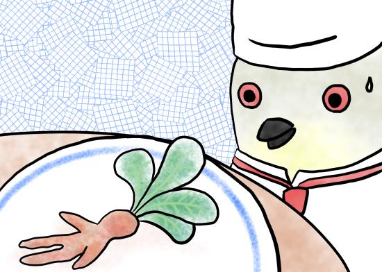 ジュロウのお料理教室2illustration by Ukyo SAITO ©斎藤雨梟