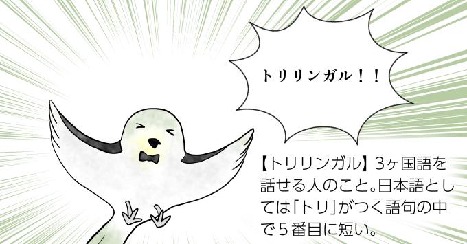 トリリンガル2 illustration by Ukyo SAITO ©斎藤雨梟