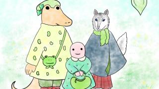 豆ニット三人娘