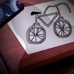 魔の絵本(1)エドワード・ゴーリー著「優雅に叱責する自転車」