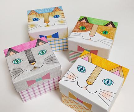 千秋まみこワークショップ2018 猫BOX