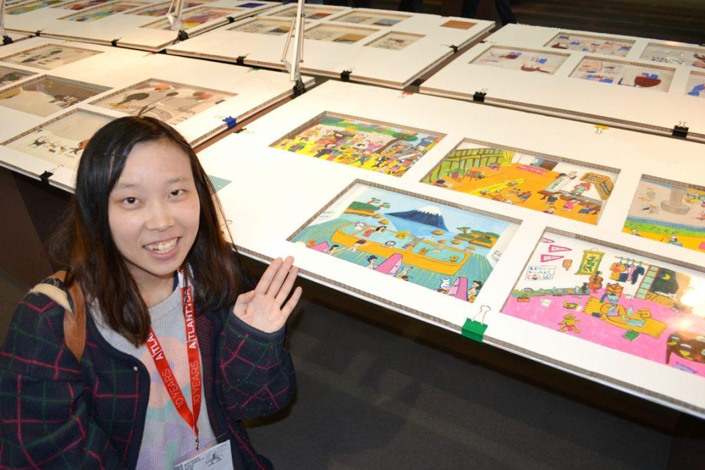 古郡加奈子さんと入選作品(2017年)