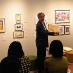 ホテル暴風雨展2トークショー:「世界に届けるために。たった一人に届けるために」絵本作家 山田和明さん