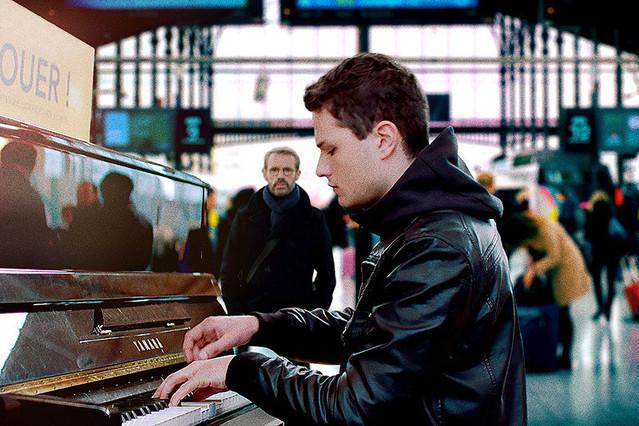 「パリに見出されたピアニスト」監督:ルドビク・バーナード 出演:ランベール・ウィルソン クリスティン・スコット・トーマス他