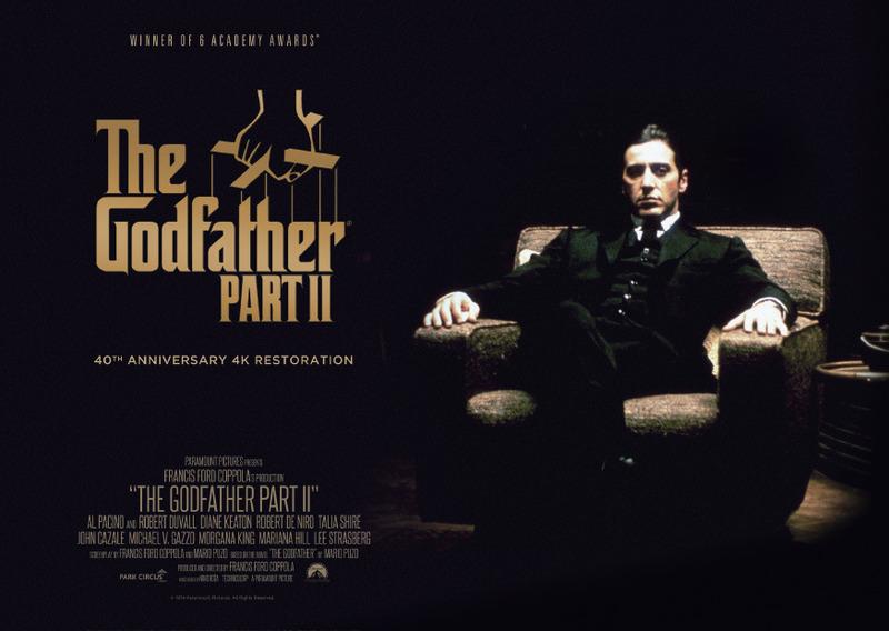 ゴッドファーザーPART II 監督:フランシス・フォード・コッポラ 出演:アル・パチーノ ロバート・デ・ニーロ他