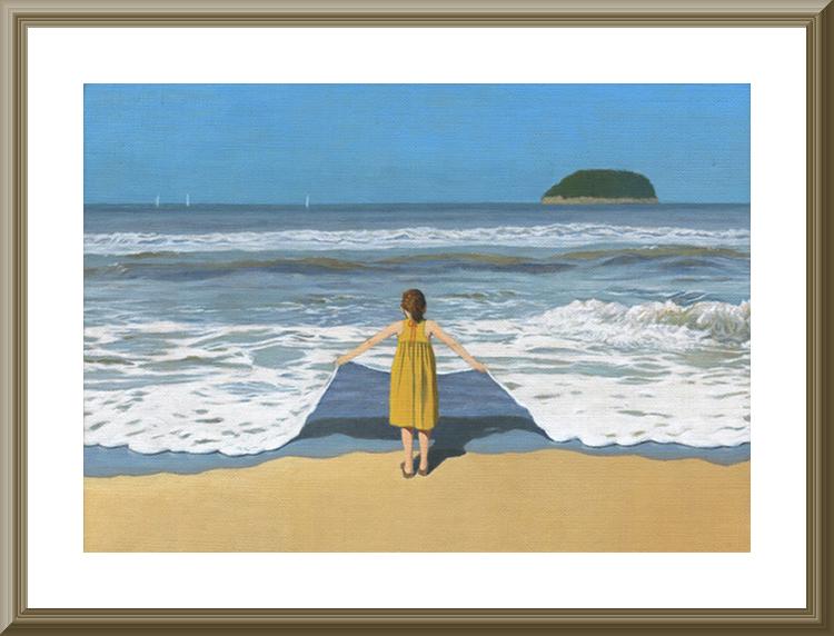 「波のクロス」©成瀬修