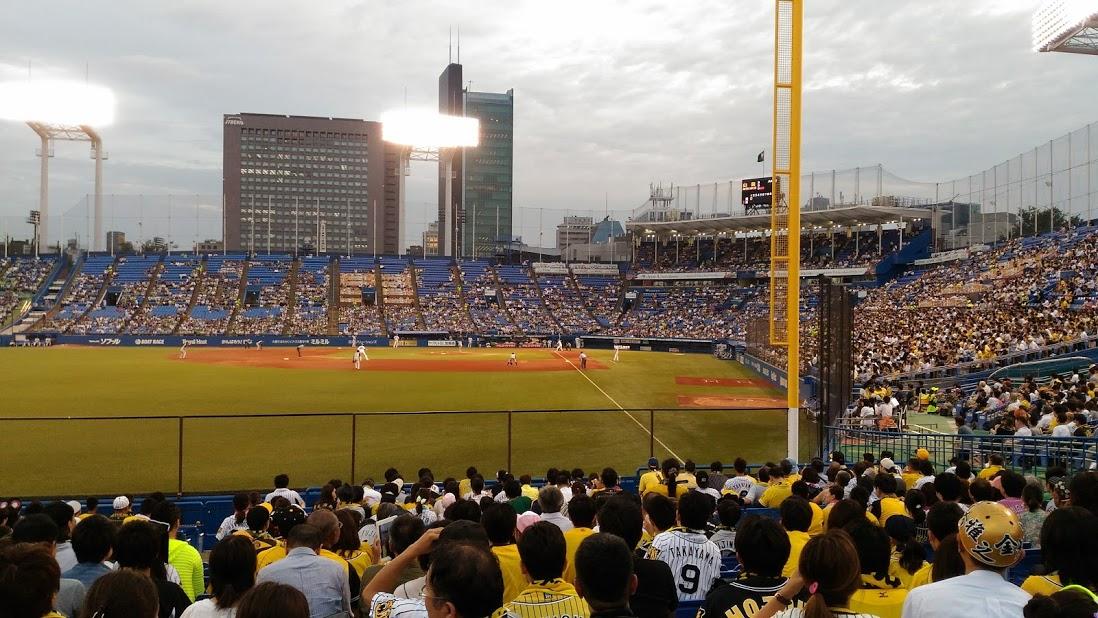 神宮球場 阪神対ヤクルト