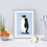 ペンギンアートを飾る! 魔法科学ファンタジー時代の妄想工作