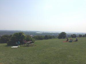 ポーツマス丘の上