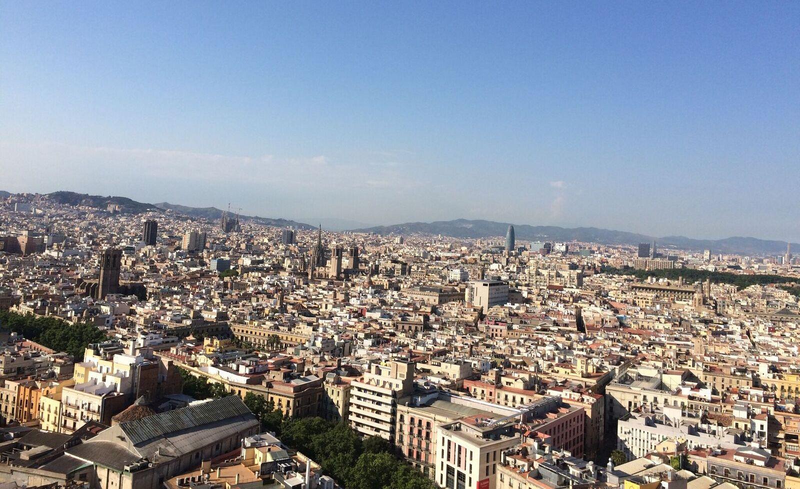 スペイン バルセロナ市街