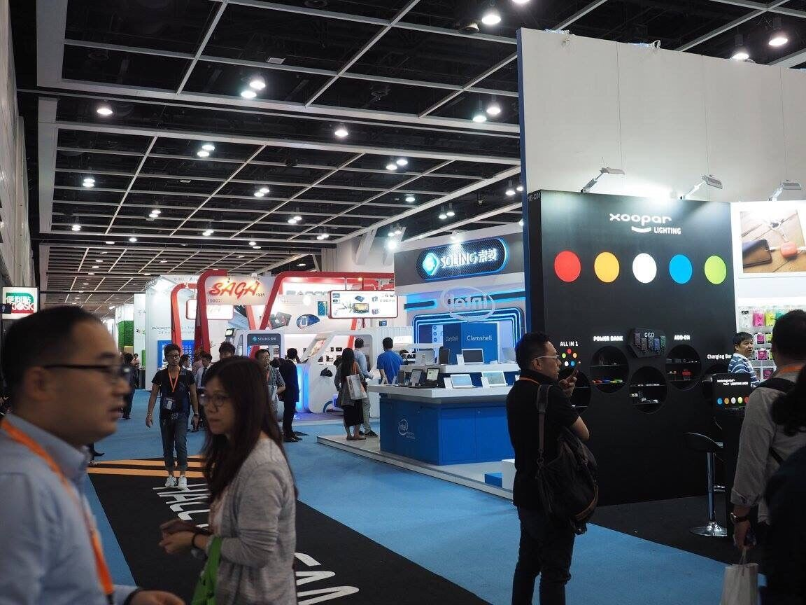 Hong Kong Electronics Fair 香港展示会2